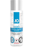 Jo H2o Warming Water Based Lubricant 2.5 Ounce
